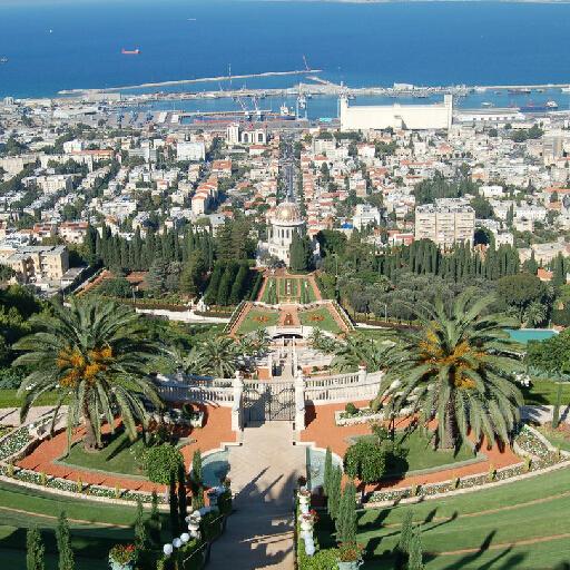 探秘以色列约旦10天之旅>杰拉什古城/巴哈伊空中花园图片